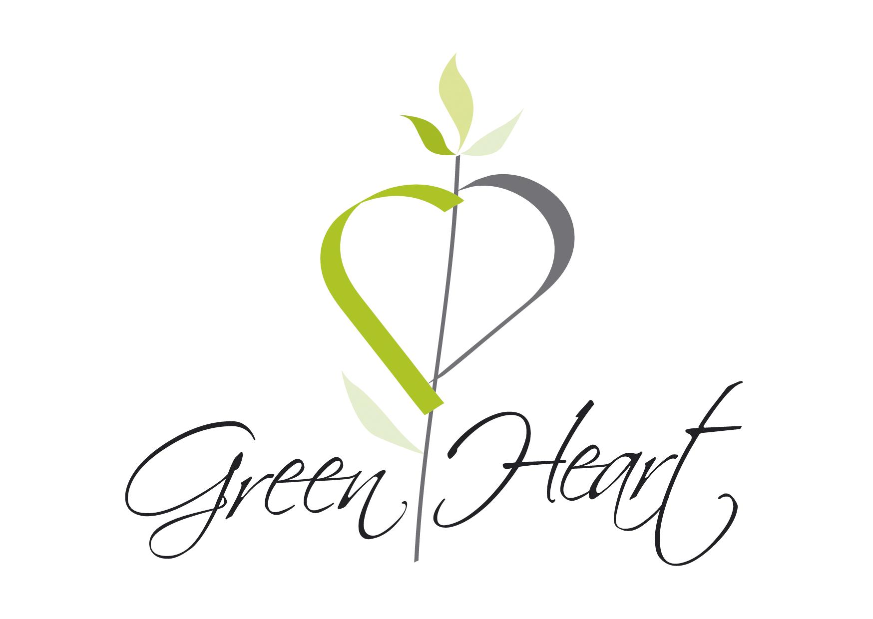 Návrh designu loga GREEN HEART Kutná Hora