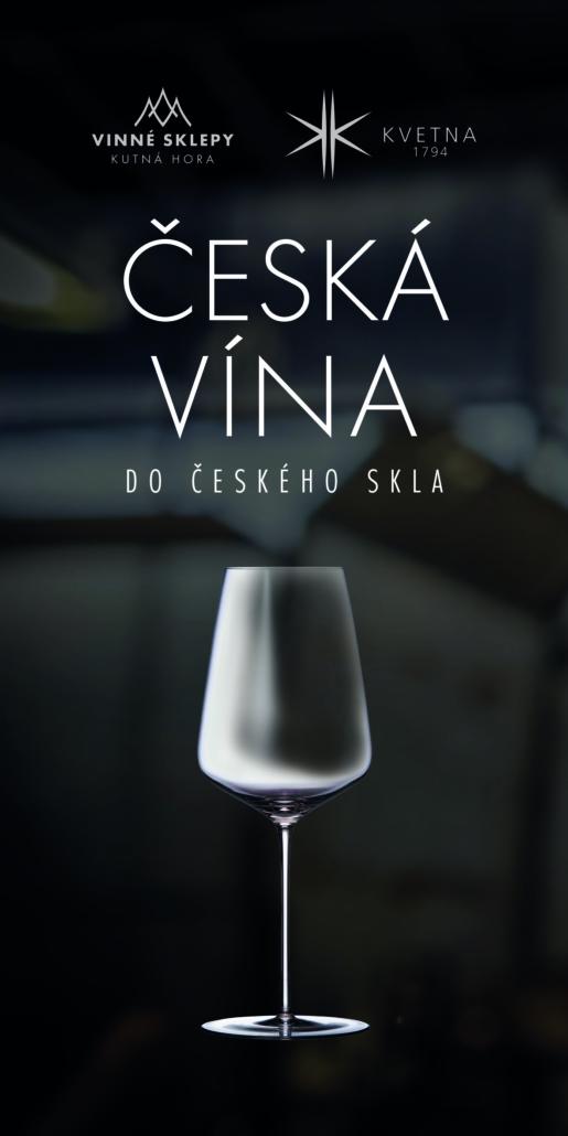 Design rollupu sklárny Květná a Vinných sklepů Kutná Hora