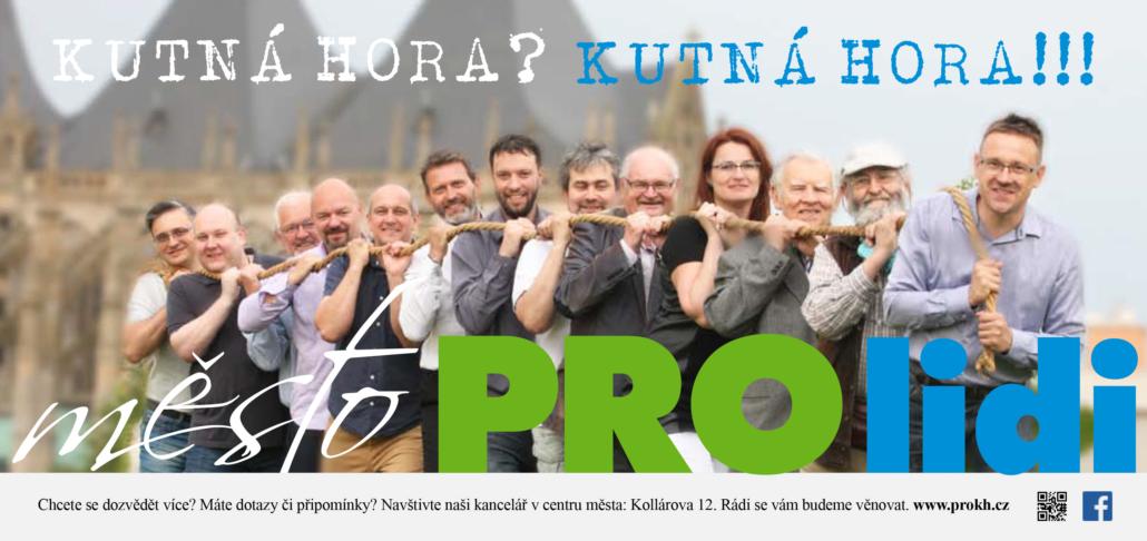 Variaposter - návrh designu loga a kampaně Město PRO lidi