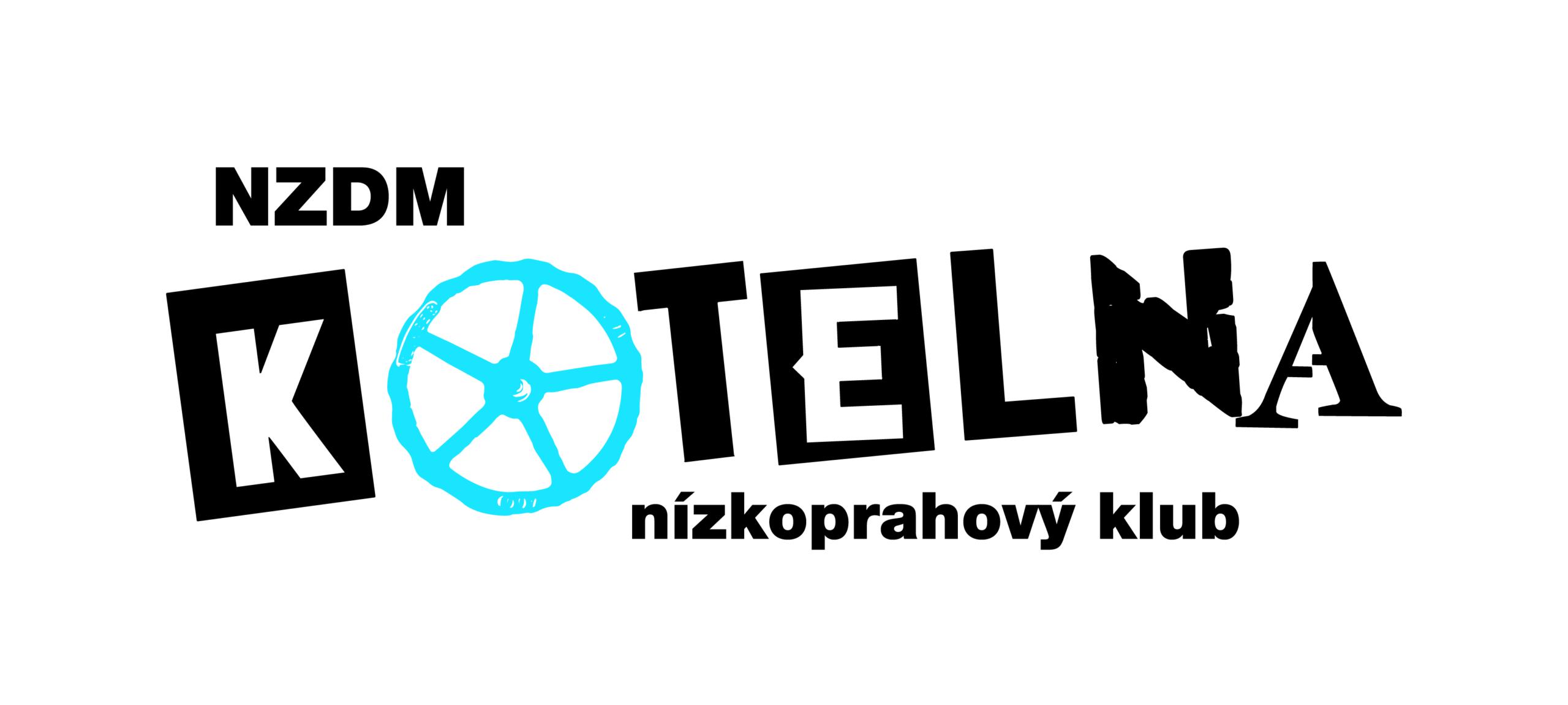 Návrh designu loga nízkoprahového klubu KOTELNA