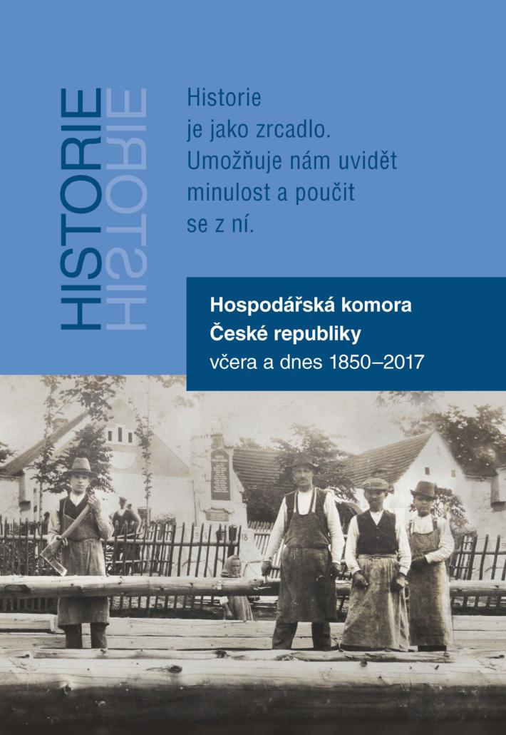 Reprezentativní publikace vydaná k výročí Hospodářské komory ČR