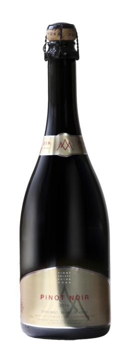 Návrh obalu - Návrh etiket Vinných sklepů Kutná Hora - Sekt Pinot Noir 2018