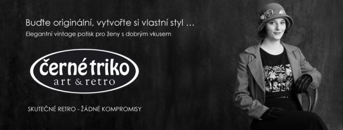 Design reklamních materiálů e-shopu Černé triko Kutná Hora