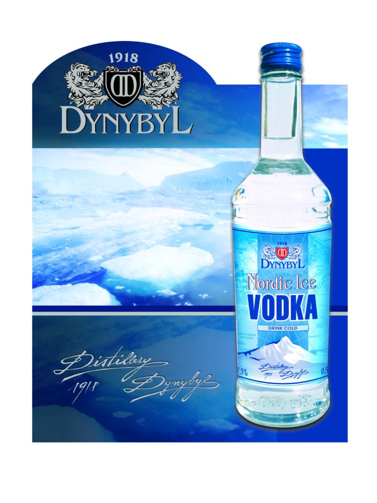 Návrh designu reklamní kampaně VODKA DYNYBYL