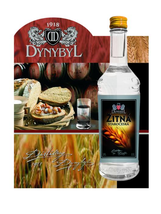 Návrh designu reklamní kampaně ŽITNÁ DYNYBYL