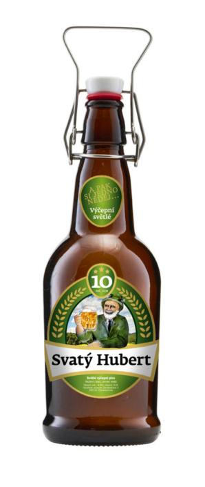 Návrh obalu - Návrh designu pivní etikety Svatý Hubert minipivovar Zbraslavice