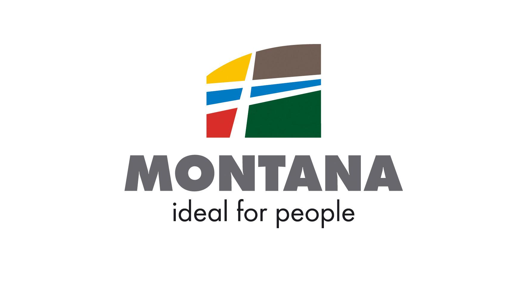 Grafický návrh designu loga MONTANA