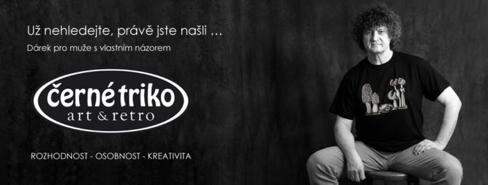 Návrh reklamních materiálů e-shopu Černé triko Kutná Hora