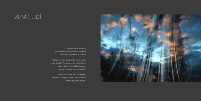 Návrh designu - Literární triptych Mácha - Andersen - Exupéry